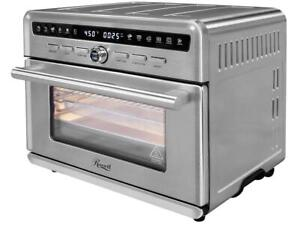 Rosewill Air Fryer Convection Toaster Oven, Stainless Steel Exterior, Family Siz