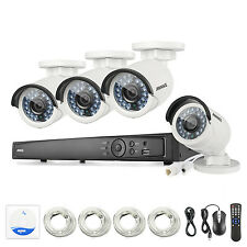 Annke 8Ch Hd 1080P 6Mp Nvr Ip Network PoE 4Mp In/Outdoor Cameras Security System