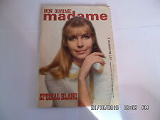 MON OUVRAGE MADAME N°208 01/1966 BRODERIE TRICOTS HIVER COUPE FROID      I33