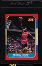 1986 Fleer Basketball Michael Jordan ROOKIE RC #57