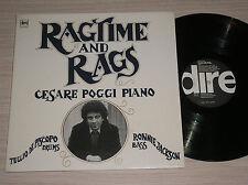 CESARE POGGI (con TULLIO DE PISCOPO) - RAGTIME AND RAGS - LP 33 GIRI ITALY