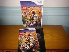 LEGO Indiana Jones 2: The Adventure Continues (Nintendo Wii, 2009) Game
