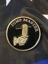 JUMPMASTER Parachute Badge HALO Airborne Paratrooper SOCOM Challenge Coin