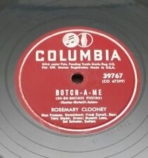 ROSEMARY CLOONEY COLUMBIA 39767 BOTCH-A-ME ON THE FIRST WARM DAY 1952 78 RPM