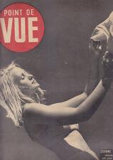 C1 POINT DE VUE 128 1947 EDITH PIAF Deauville MARGARET KELLY Bluebell Girls JUDD