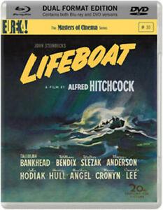 ALFRED HITCHCOCK - LIFEBOAT BLU-RAY + DVD [UK] NEW BLURAY