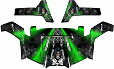 Polaris RZR 800 UTV Graphics Decal Wrap 2011 - 2014 Grim Reaper Revenge Green