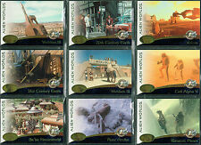 STAR TREK CINEMA 2000 SET OF 9 ALIEN WORLDS CARDS AW01-AW09