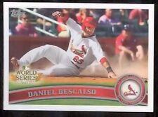Daniel Descalso - 2011 Topps Baseball World Series Card WS19 St. Louis Cardinals