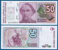 Argentina/Argentina 50 australes (1986-89) p.326 UNC