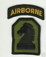 United States 2nd Military Intelligence Airborne Patch