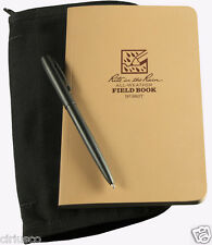 Rite in the Rain All-Weather Outdoors Field Notebook Kit w/ Black Cordura Cover