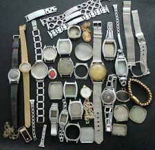 Old/Antique/Estate Men's Group/Lot Vintage Ladies Wristwatches