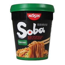 Nissin soba teriyaki cup noodle - 8 tasses