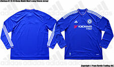 Chelsea FC 15/16 Home Model adidas Men's Long Sleeve Jersey(XL)C Blue Fàbregas