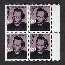 West Germany: Birth Centenary of Nathan Soderblom; mint block of 4