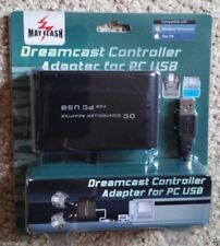 Sega Dreamcast Wired Controller Adapter to USB PC Computer Brand New Mayflash