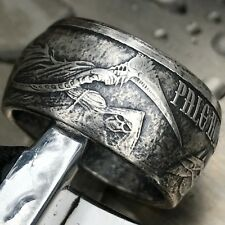 Pale Horse of Death .999 1 oz Silver Coin Ring