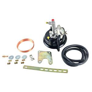 """VH44 7"""" Remote Brake Booster + Bracket Mounting Kit - 4 wheel Drum Brake Models"""