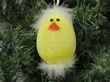 "Easter Baby Chick ""Egg Head"" Holiday Ornament"