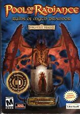 POOL OF RADIANCE RUINS OF MYTH DRANNOR Forgotten Realms PC Game RPG NEW in Box