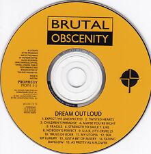 Brutalmente obscenity-CD-Dream Out Loud