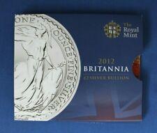 2012 Silver 1oz Britannia £2 coin in Card Folder    (AG5/21)
