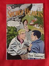 Secret Hearts Comic Book February 1959 No. 53 Romance Silver Age Rare H7