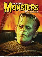 Frankenstein By Rick Baker Poster Famous Monsters 19x27