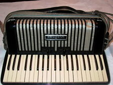 Wurlitzer Black Antique Accordion & Case