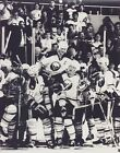 GILBERT PERREAULT 8X10 PHOTO HOCKEY BUFFALO SABRES NHL CELEBRATION