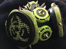 Costume Rave Gas Masks - Lime Green and Black **On Sale!!**