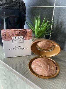 Laura Geller Super-Size Baked Bronze-n-Brighten 0.85oz / 24g Deep Huge New Rare