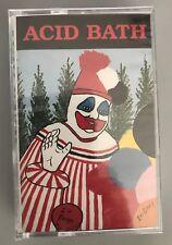 ACID BATH - WHEN THE KITE STRING POPS - CASSETTE TAPE ORIGINAL STILL SEALED-RARE
