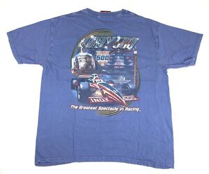 Vintage Indy 500 Indianapolis Men's Short Sleeve T-Shirt Size Large 2007