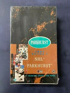 1991/1992 Parkhurst Series 1 Hockey Box Sealed Gretzky
