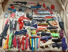 Huge lot 80s ! 100+ Weapons MISC Toy Parts GI Joe tmnt missles guns vintage  fun