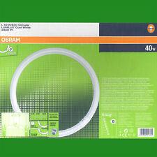 "2x 40W G10Q 4 Pin T9 Round 16"" Circular Lamp Fluorescent Tube 4000K Light Bulbs"