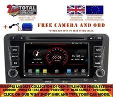 AUTORADIO GPS WIFI BT ANDROID 9.1 DAB+ CARPLAY WIFI AUDI A3 S3 RS3 03-12 K5763
