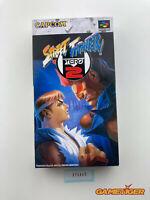 STREET FIGHTER ZERO 2 Nintendo Super Famicom SFC JAPAN Ref:315342