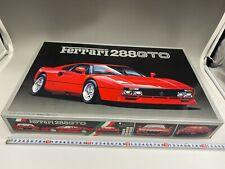 Fujimi 1/16 Kit Ferrari 288 GTO Vintage OOP Not assembled