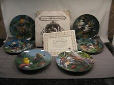 "Lot of 6 Bradford Exchange ""Birds of Your Garden"" Collector Plates Mib"