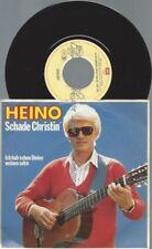 """7""""  Heino – Schade Christin"""