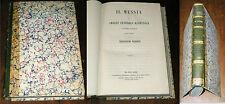 Il Messia F A Klopstock Poema fatto Italiano da Sebastiano Barozzi 1858