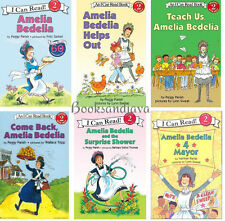 I Can Read Level 2 AMELIA BEDELIA (pb) by Peggy Parish 6 Book Lot Set NEW
