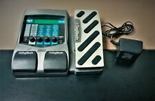 Digitech RP 250 Modeling Guitar Processor With Wah/Volume Pedal and Adapter