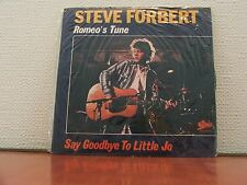 "Vinilo De 7"" (paquete sin abrir) por ""Steve Forbert"" récord! ""Romeos Tune""! (K)"