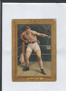 VINTAGE CIGARETTE CARD TURKEY RED AMERICAN TOBACCO BOXING CARD BOXERS
