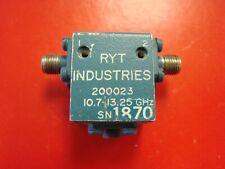 RYT 10.7-13.25GHz Isolator Model 200023, SMA