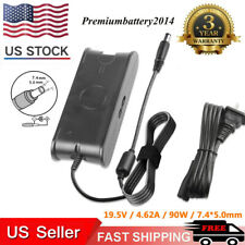 90W 4.62A AC Adapter Charger Power Supply Cord for Dell Laptop PA10 PA-12 US
